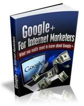 Thumbnail Google+ For Internet Marketers With MRR (Master Resell Rights)