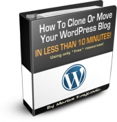 Thumbnail How To Clone Or Move Your Wordpress Blog In Less Than 10 Minutes With MRR (Master Resale Rights)