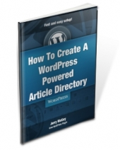 Thumbnail How To Create A WordPress Powered Article Directory With MRR (Master Resale Rights)