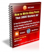 Thumbnail How to Write Blog Posts That SUCK Visitors In! With MRR (Master Resale Rights)
