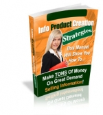Thumbnail Info Product Creation Strategies With MRR (Master Resale Rights)