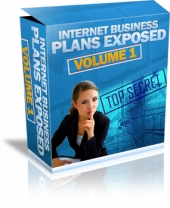 Thumbnail Internet Business Plans Exposed - Volume 1 With MRR (Master Resale Rights)