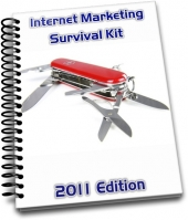 Thumbnail Internet Marketing Survival Kit - 2011 Edition With MRR (Master Resale Rights)