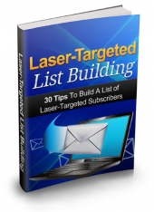 Thumbnail Laser Targeted List Building With MRR (Master Resell Rights)