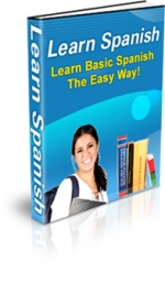 Thumbnail Learn Spanish - Learn Basic Spanish The Easy Way! With MRR (Master Resale Rights)