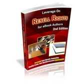 Thumbnail Leverage On Resell Rights : 2nd Edition With MRR (Master Resale Rights)