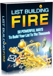 Thumbnail List Building Fire With MRR (Master Resale Rights)
