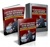 Thumbnail List Building Basics... For Newbie Internet Marketers With MRR (Master Resell Rights)