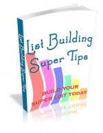 Thumbnail List Building Super Tips With MRR (Master Resale Rights)