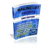Thumbnail Mailing List Profits : 2nd Edition With MRR (Master Resale Rights)