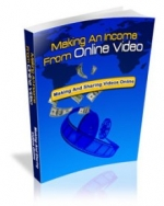Thumbnail Making An Income From Online Video With MRR (Master Resale Rights)