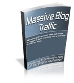 Thumbnail Massive Blog Traffic With MRR (Master Resale Rights)