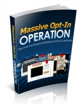Thumbnail Massive Opt-In Operation With MRR (Master Resell Rights)