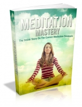 Thumbnail Meditation Mastery With MRR (Master Resale Rights)