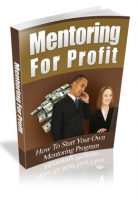 Thumbnail Mentoring For Profit With MRR (Master Resale Rights)