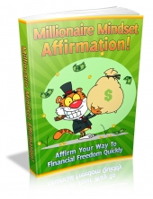 Thumbnail Millionaire Mindset Affirmation! With MRR (Master Resale Rights)