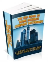 Thumbnail The Big Book Of Home Business Company Directory With MRR (Master Resell Rights)