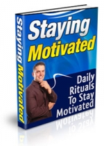 Thumbnail Staying Motivated With PLR (Private Label Rights)