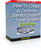 Thumbnail Customer Service Support Ticket System For Free With RR (Resell Rights)