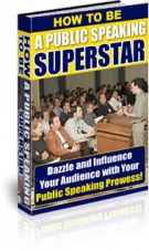 Thumbnail How To Be A Public Speaking Superstar With PLR (Private Label Rights)