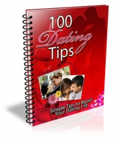 Thumbnail 100 Dating Tips - With Master Resell Rights
