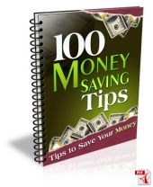 Thumbnail 100 Money Saving Tips - With Master Resell Rights