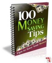 Thumbnail 100 Money Saving Tips - With Master Resell Rights
