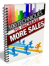 Thumbnail 100 Techniques to Increase More Sales - With Master Resell Rights