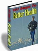 Thumbnail 101 Steps To Better Health With Resell Rights