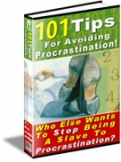 Thumbnail 101 Tips For Avoiding Procrastination! - With Resell Rights