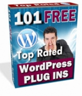 Thumbnail 101 Free Top Rated WordPress Plugins - With Master Resale Rights