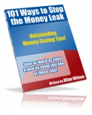 Thumbnail 101 Ways To Stop The Money Leak With Resell Rights