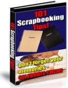 Thumbnail 101 Scrapbooking Tips! - With Resell Rights