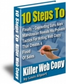Thumbnail 10 Steps To Killer Web Copy With Resell Rights