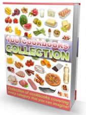 Thumbnail 100 Cookbooks Collection - With Resale Rights