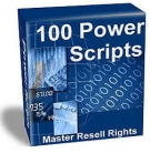 Thumbnail 100 Power Scripts - With Master Resell Rights
