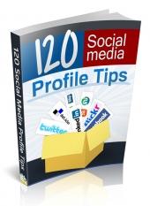 Thumbnail 120 Social Media Profile Tips - With