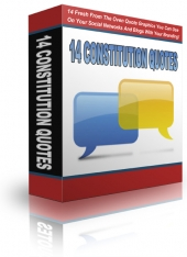 Thumbnail 14 Fresh Constitution Quotes - With Private Label Rights