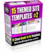 Thumbnail 15 Theme Templates #2 - With Private Label Rights