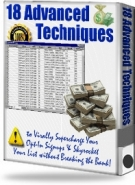 Thumbnail 18 Advanced Techniques - With Resell Rights
