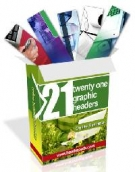Thumbnail 21 Graphic Headers Package With Resell Rights