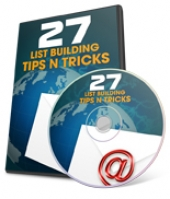 Thumbnail 27 List Building Tips N Tricks - With Private Label Rights