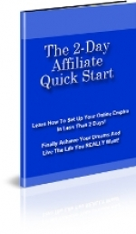 Thumbnail The 2-Day Affiliate Quick Start - With Private Label Rights