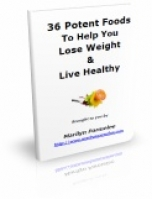 Thumbnail 36 Potent Foods To Help You Lose Weight & Live Healthy - With Private Label Rights