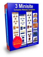 Thumbnail 3 Minisite : Complete Website Templates - With Private Label Rights