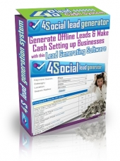 Thumbnail 4 Social Lead Generator - With Personal Use Rights