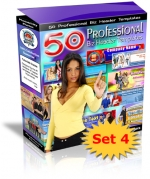 Thumbnail 50 Professional Biz Header Templates : Set 4 - With Private Label Rights