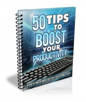 Thumbnail 50 Tips to Boost Your Productivity - With Master Resell Rights