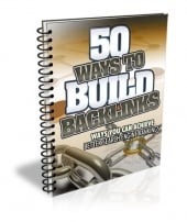 Thumbnail 50 Ways to Build Backlinks - With Master Resell Rights
