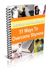 Thumbnail 51 Ways to Overcome Shyness and Low Self-Esteem With Resale Rights